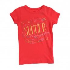 T-shirt Summer Corail