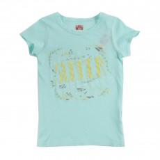 T-shirt Summer Vert d'eau