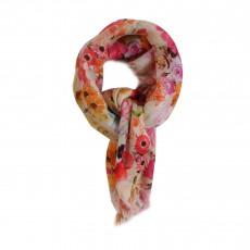 Foulard Fleurs Heleana Multicolore