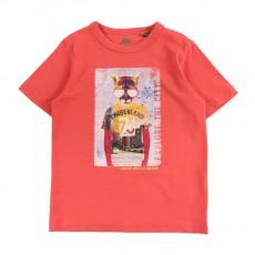 T-Shirt Coton Biologique 73 Corail