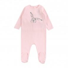 Pyjama Lapin  Rose pâle