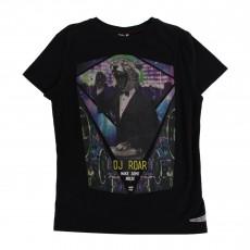 T-Shirt imprimé Cheeta Noir