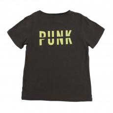 """T-shirt """"Punk"""" Dos Vert kaki"""