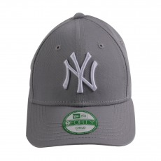 Casquette Curve Ajustable MLB League NY 9FORTY  Gris
