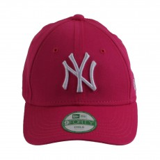 Casquette Curve Ajustable MLB League NY 9FORTY  Rose