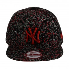 Casquette Snapback Ajustable  Denspeckle NY 9FITY  Rouge