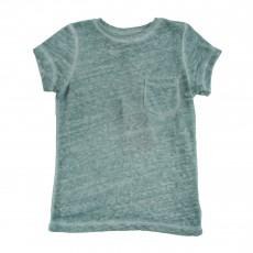 T-shirt Chiné Fadi Vert d'eau