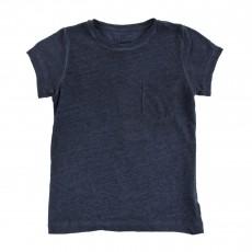 T-shirt Chiné Fadi Bleu nuit