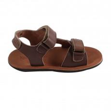 Sandales Cuir Sparting  Brun kaki