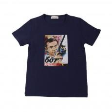 T-shirt 007  Bleu marine