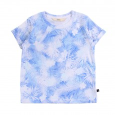 T-Shirt Hawai Tim Bleu