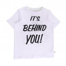 T-shirt It's Behind You Arlo Blanc