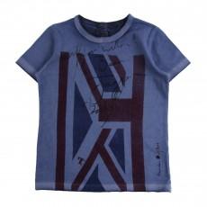 T-shirt Autographe Bleu
