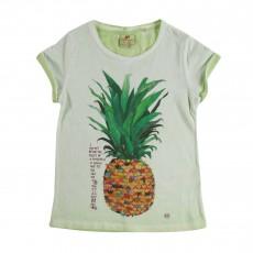 T-shirt Ananas Vert