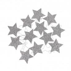 Guirlande étoile Argenté