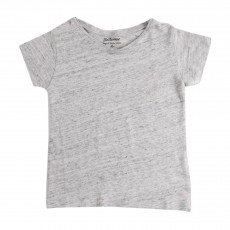T-shirt Lin Moun Gris
