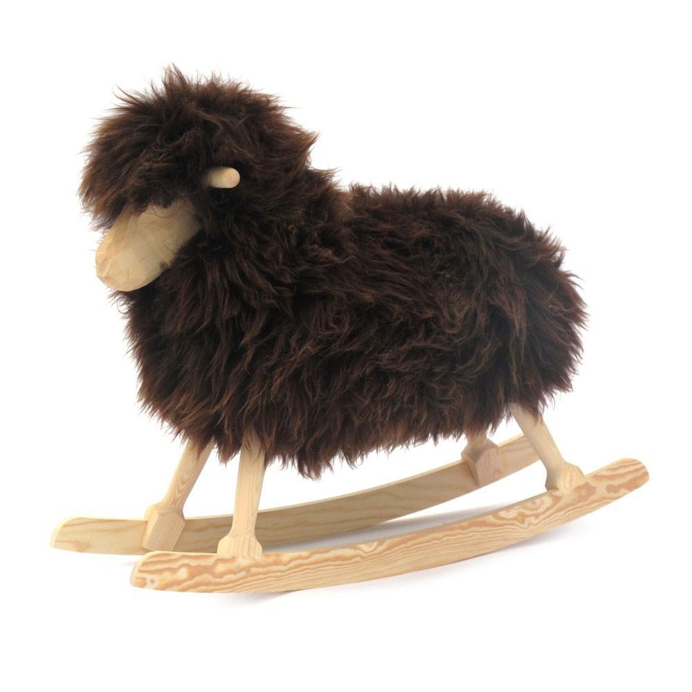 mouton bascule noir danish crafts jeux jouets. Black Bedroom Furniture Sets. Home Design Ideas