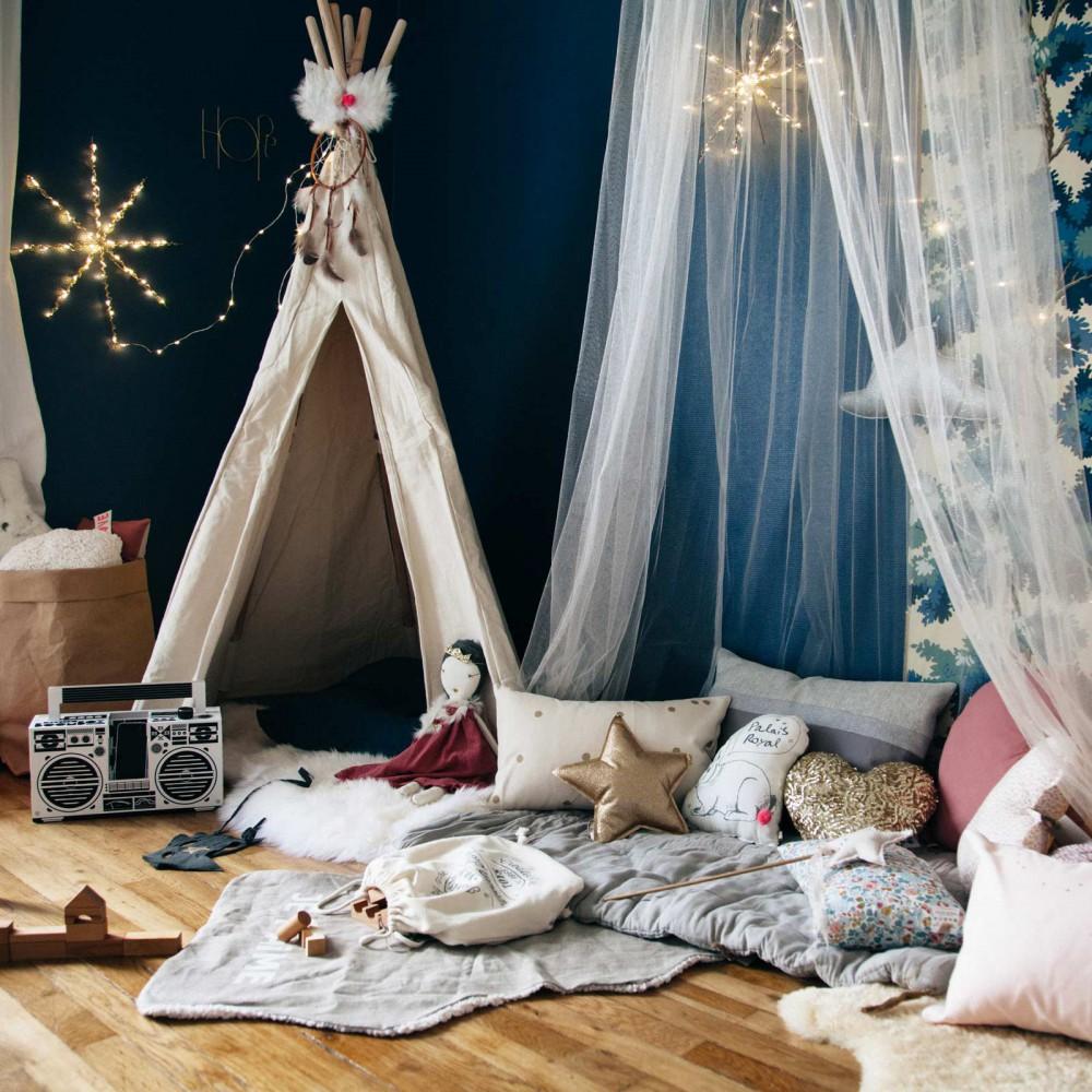 tente d 39 indien vilac jeux jouets loisirs enfant smallable. Black Bedroom Furniture Sets. Home Design Ideas