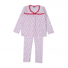 Pyjama éponge Mariage Blanc