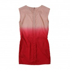 Robe Tie&Dye Rouge framboise