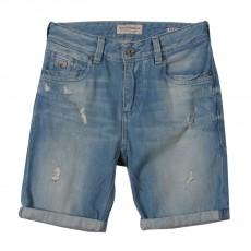Bermuda Jean Used Bleu jean