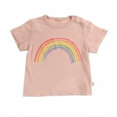 T-shirt Arc En Ciel Chuckle Vieux Rose