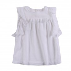 Blouse Honolulu Blanc