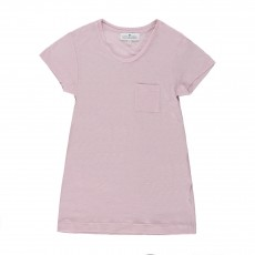 T-shirt Chiné Rose pâle
