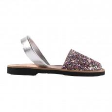 Sandales Avarca Paillettes Multicolore