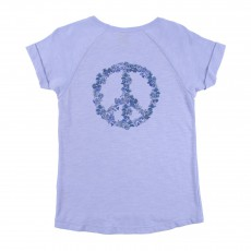 T-shirt Teacy Bleu