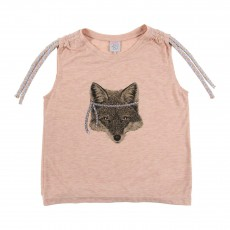 T-shirt Tigerlily Rose pêche