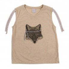 T-shirt Tigerlily Beige