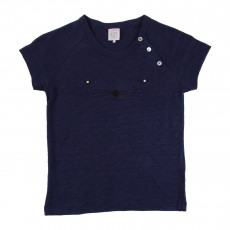 T-shirt Tilly Bleu marine