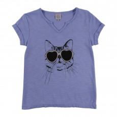 T-shirt Tity Bleu