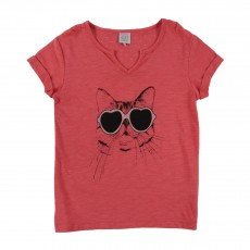 T-shirt Tity Rouge