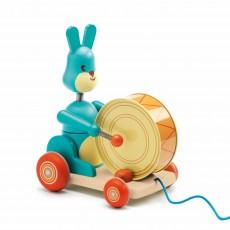 Jouet à traîner Bunny boum