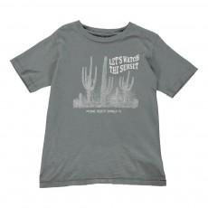 T-shirt Cactus Gris anthracite