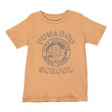 """T-shirt """"Punahou School"""" Ocre"""