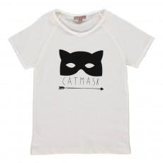 T-shirt Catmask Ecru