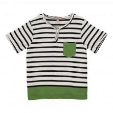 T-shirt Marin Poche Vert