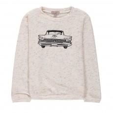 Sweat Chevrolet Ecru chiné