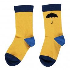Chaussettes Parapluie Jaune