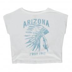 "T-shirt Indien ""Arizona"" Izzari Blanc"