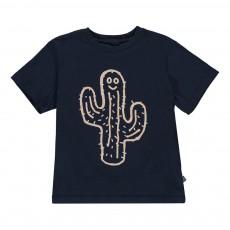 T-shirt Cactus Howie Bleu nuit