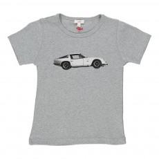 T-shirt Voiture Zagato Gris