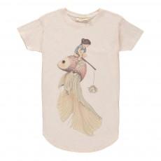 Robe Mouchetée Yoko Fish The Way Vanille