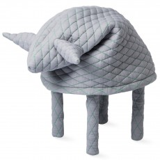 Tabouret Petstools Fin mouton - Gris