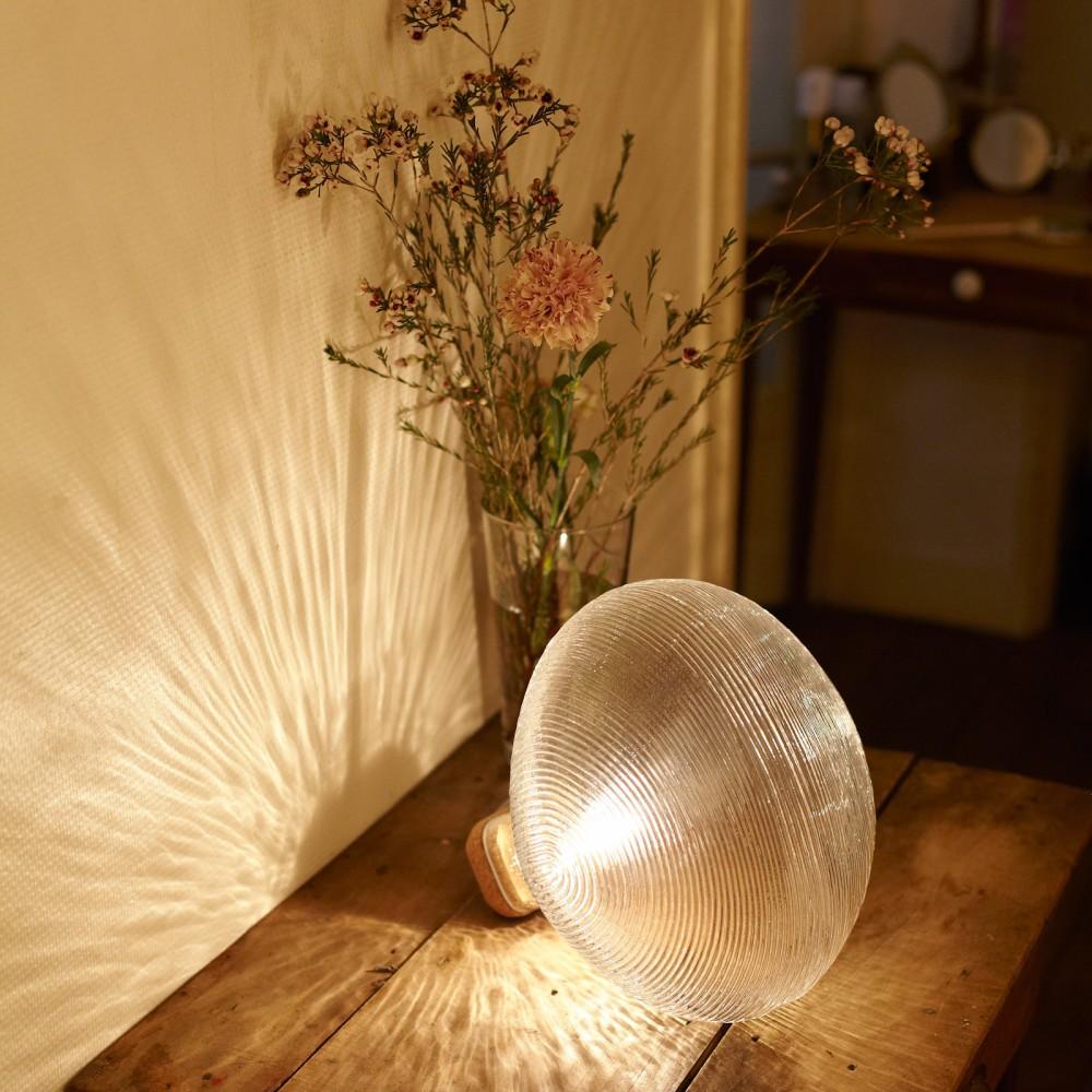 lampe poser tidelight transparent petite friture d coration smallable. Black Bedroom Furniture Sets. Home Design Ideas