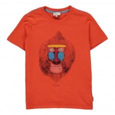 T-shirt Singe Henin Rouge