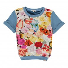 Pull Fleurs Hafine Multicolore